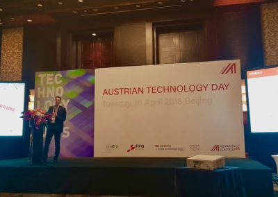 Präsentation beim Austrian Technology Day