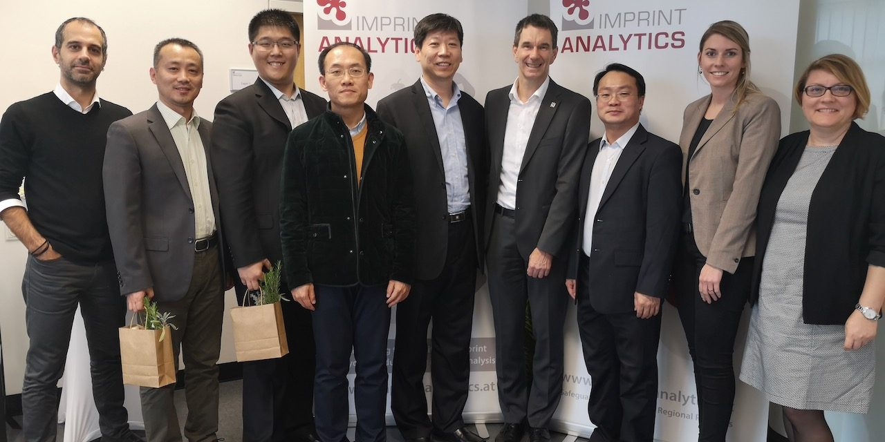Projectpartner CAIQ visited Imprint Analytics